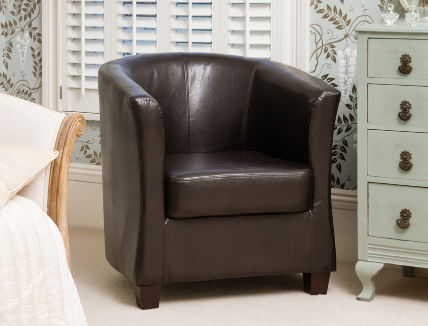 Amersham tub chair brown