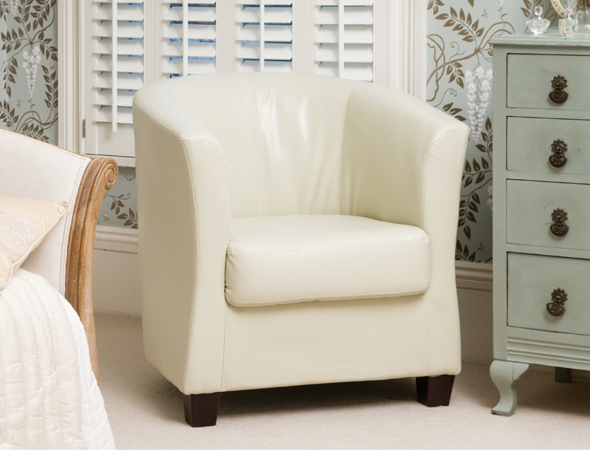 Amersham tub chair ivory