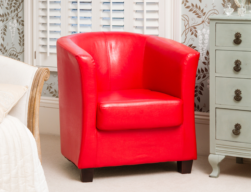 Amersham tub chair red
