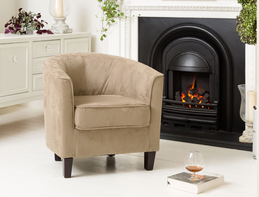 Beaumont tub chair cappuccino
