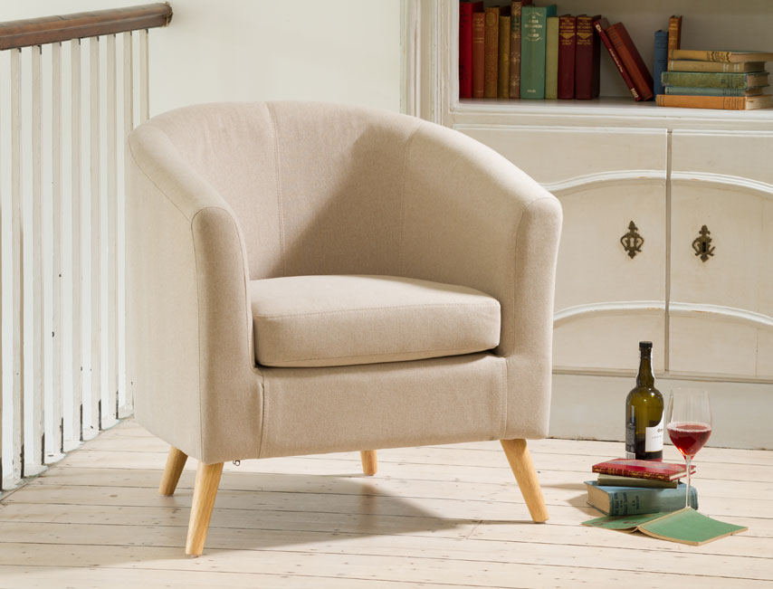 Dover tub chair sand