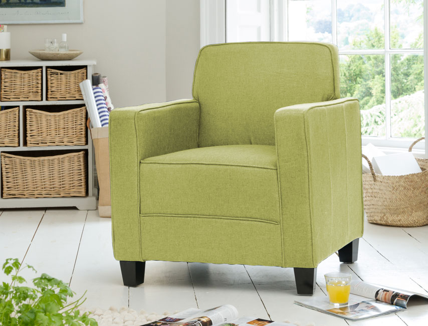 Lambeth armchair green