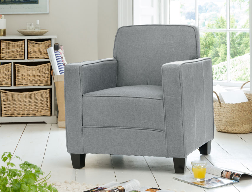 Lambeth armchair grey