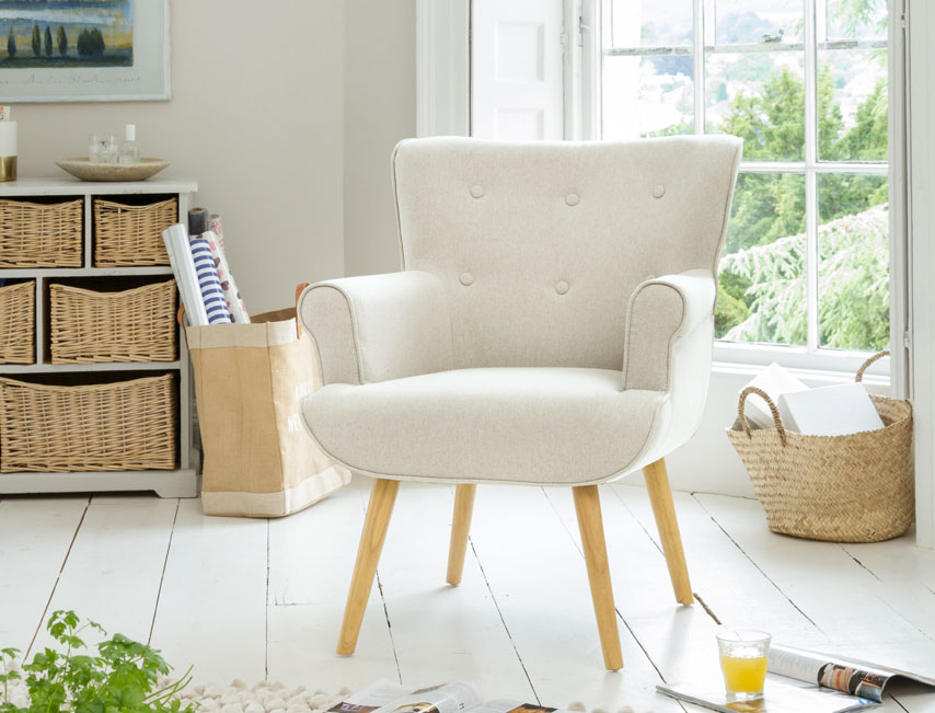 Manton tub chair cream