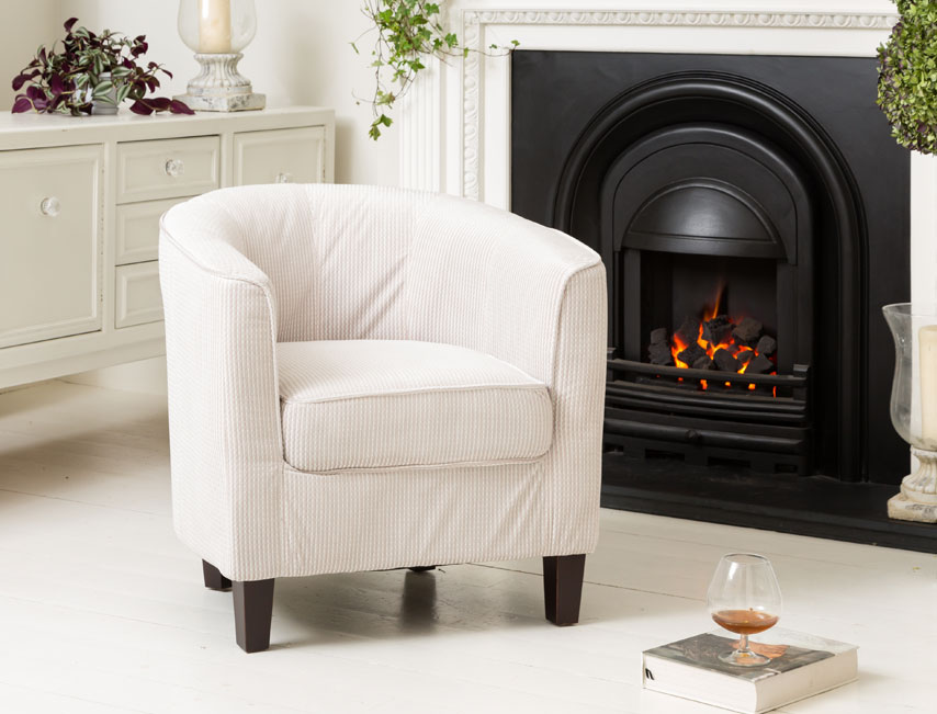 Milton tub chair beige