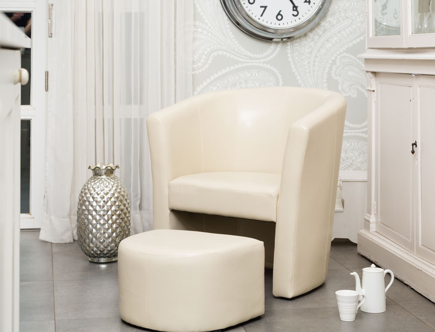 Stanford tub chair cream
